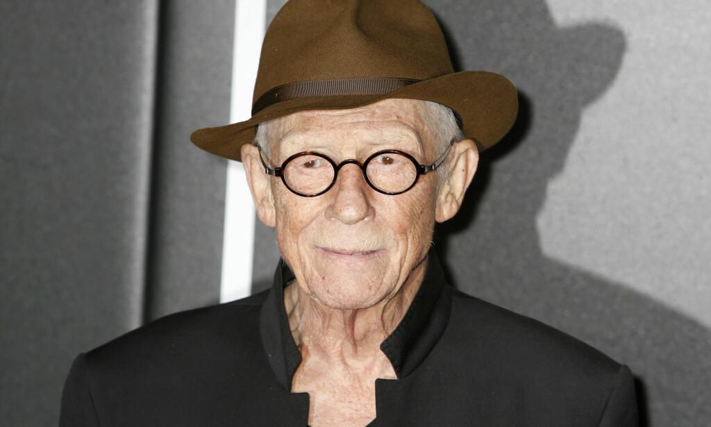 DØD: Den britiske skuespilleren John Hurt, kjent for rollene i «Elefantmannen» fra 1980, «Alien» og flere Harry Potter-filmer, er død. Foto: Xposurephotos.com/NTB Scanpix