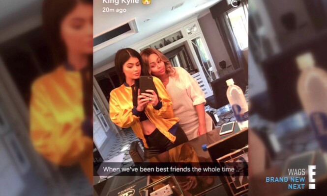 PERLEVENNER: Kylie og Blac hevder at de er gode venner, selv om ryktebørsen skal ha det til at forholdet deres har vært meget turbulent gjennom årenes løp. Foto: E!, NTB scanpix