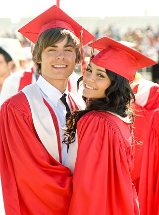 «HIGH SCHOOL MUSICAL»: Zac Efron og Vanessa Hudgens fra filmen «High School Musical». Foto: NTB Scanpix