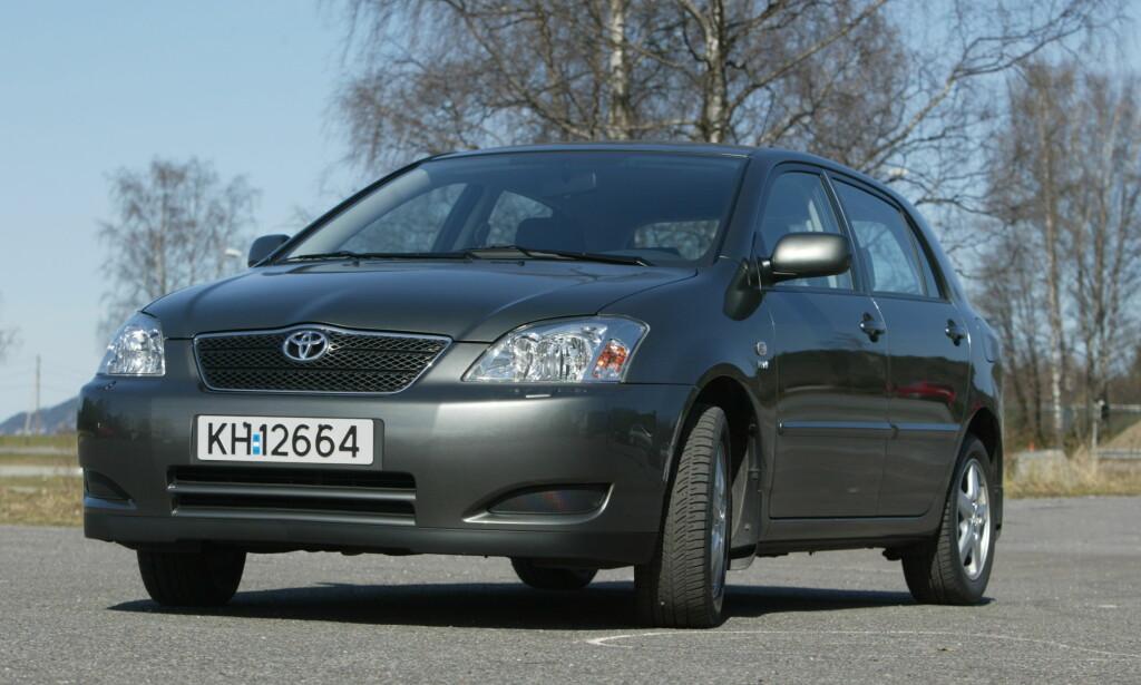 NY LØSNING SNART TILGJENGELIG: Nå kan du få trådløst nettverk i en Toyota Corolla fra 2002. Foto VEDLOG/HANS ARNE Dagbladet