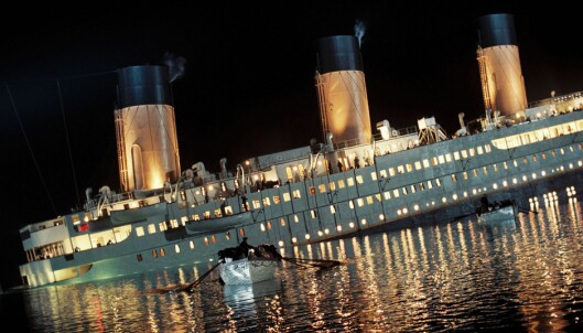 «Titanic» var et britisk passasjerskip som forliste på sin jomfrutur mellom Southampton i England og New York i USA 14. april 1912,[1] da det traff et isfjell og sank. Forliset, hvor mellom 1 350 og 1 512 personer omkom, og bare 705 overlevde (675 kvinner og barn), er en av de største og mest kjente maritime katastrofer i fredstid.
