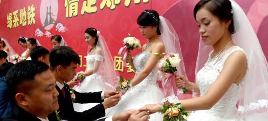 Å være singel i Kina når du nærmer deg 30 er stor skam