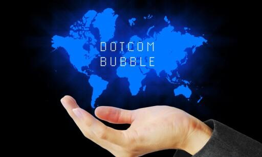 KORTVARIG: Under «dotcom»-bølgen (1995-2001) var gruppekjøp milliardindustri. Foto: Phoenixman/Shutterstock/NTB scanpix