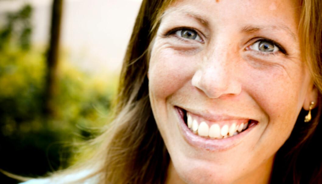 TØFF HVERDAG: Anne Winsnes Rødland hos Tvillingforeldreforeningen forteller at mange trillingforeldre sliter med å få støtte til ekstra hjelp. Foto: Ragnhild Fjellro