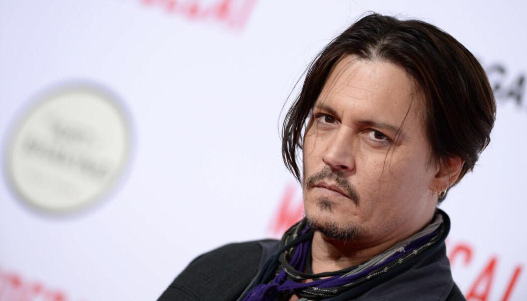 <strong>SAKSØKT:</strong> Johnny Depp saksøkte sitt tidligere forretingsapparat, som seinere gikk til motsøksmål mot skuespilleren. Nå forsvarer han seg mot uttalelsene. Foto: NTB scanpix