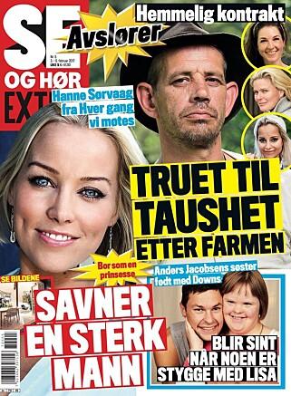«Farmen Kjendis»: - Se og Hør avslører: Slik er den hemmelige «Farmen kjendis»-kontrakten - Se ...