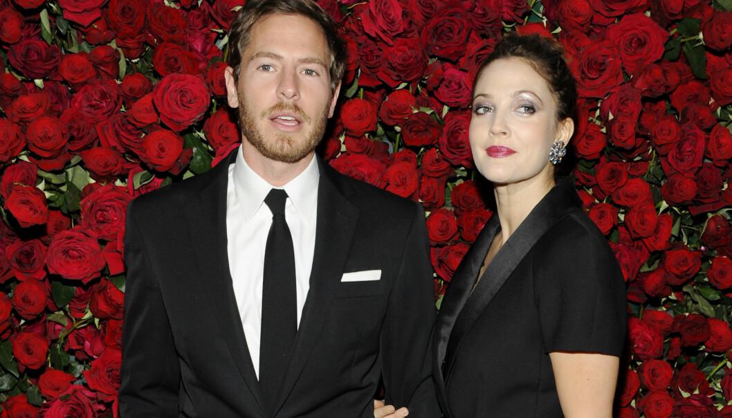 <strong>SKILT FOR TREDJE GANG:</strong> Drew Barrymore skilte seg for tredje gang april i fjor. Da hadde hun og Will Kopleman vært gift i fire år. FOTO: NTB Scanpix