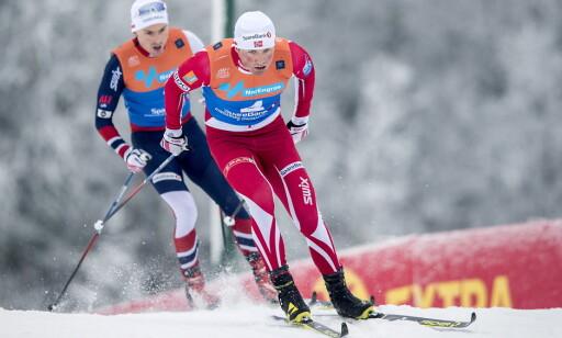 BEKYMRET: Emil Iversen tviler sterkt på at Petter Northug vil finne distanseformen denne sesongen. Foto:  Bjørn Langsem / Dagbladet