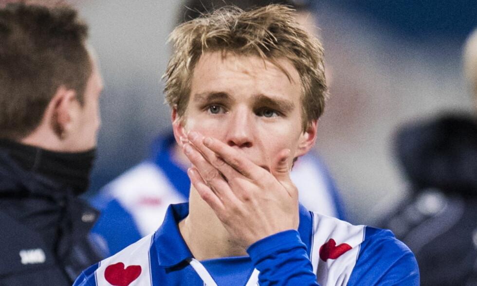 SLITER: Martin Ødegaard er ikke lenger førstevalget til Heerenveen-trener Jurgen Streppel. Foto: Jon Olav Nesvold / NTB Scanpix