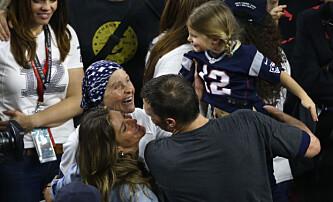 Stjal oppmerksomheten fra Giseles Super Bowl-kyss