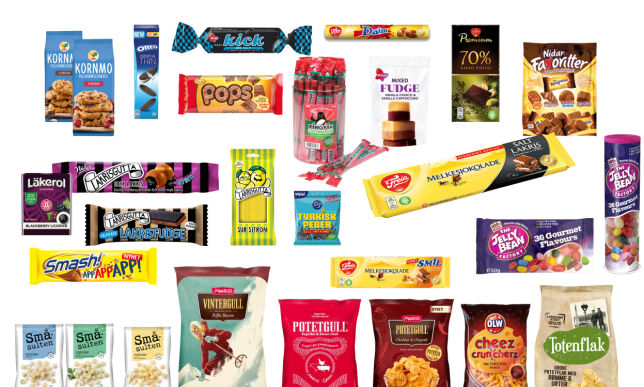 image: Husker du noen av disse?Se godteri- og snacksnyhetene fra i fjor