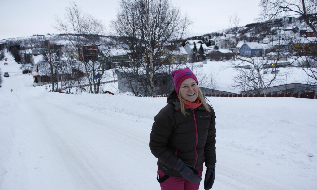 INGEN VITS: - Folk skjønner ikke vitsen med DAB-omlegginga, sier Anita Larsen (49). Hun mener radiobyttet er både unødvendig og dyrt. Foto: Gabrielle Graatrud / Dagbladet