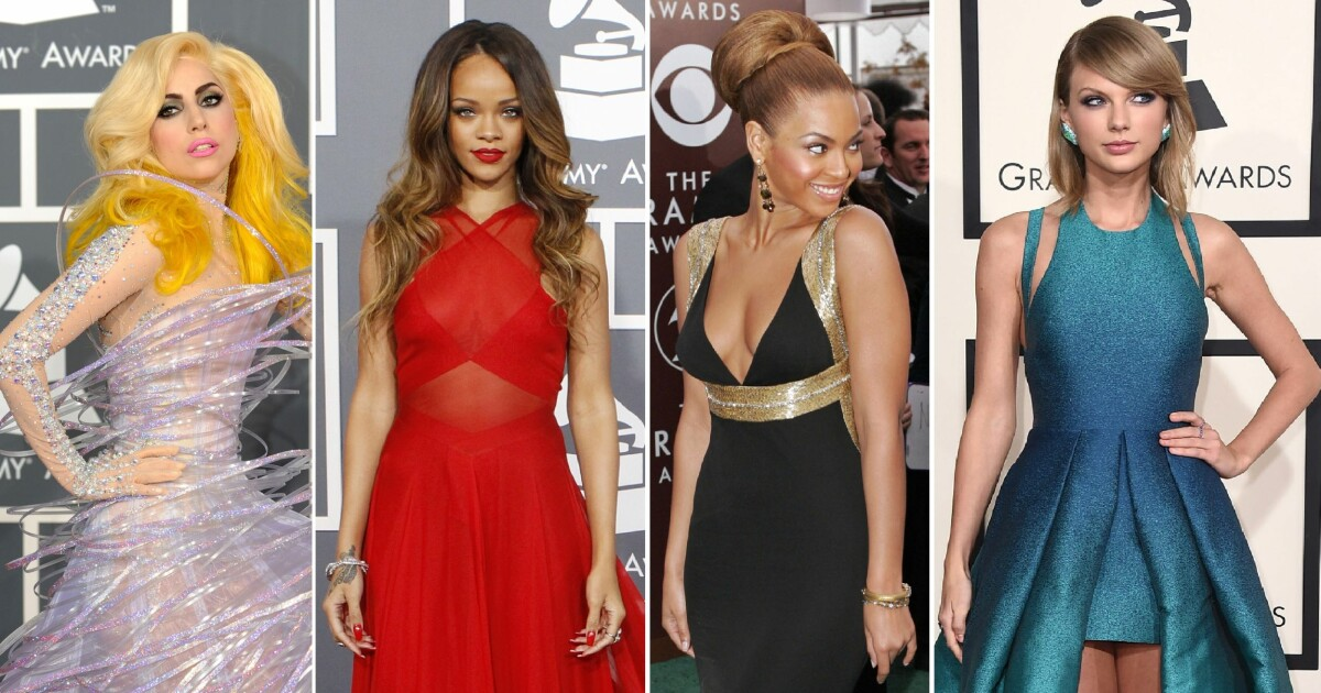 ffdee2957 Grammy Awards - Grammy-kjolene vi aldri glemmer - Se og Hør