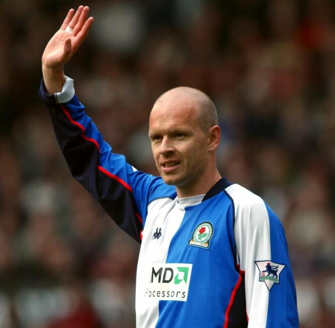 <strong>NUMMER 83:</strong> Henning Berg som spilte i Blackburn og Manchester United. Foto: NTB Scanpix