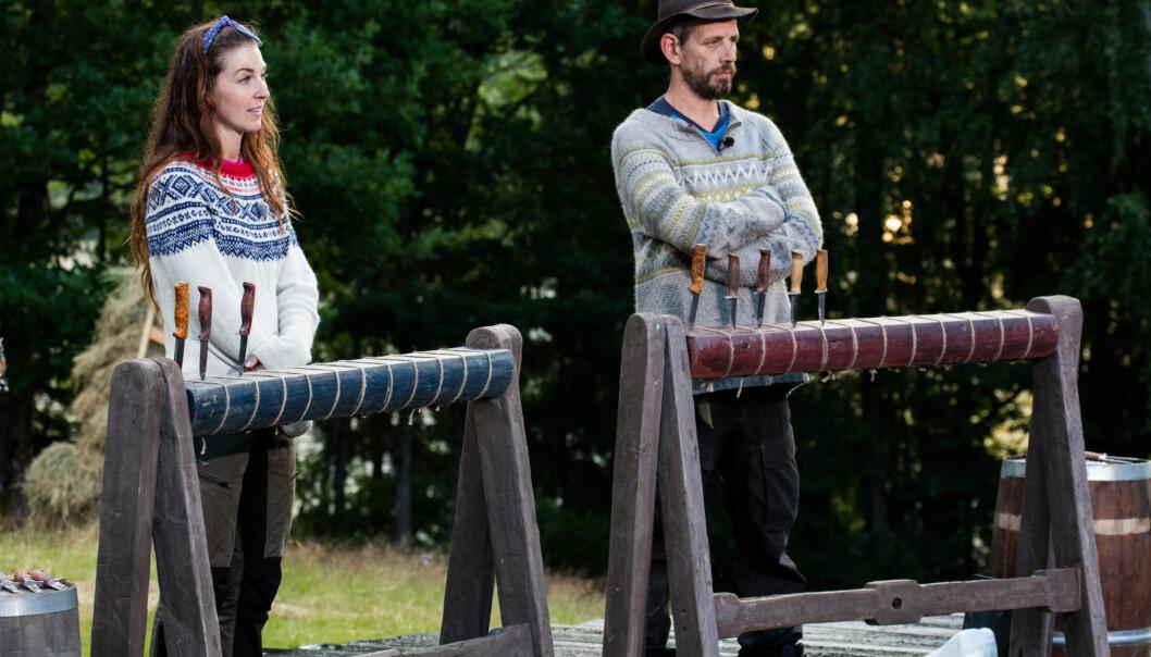 <strong>LÅ DÅRLIG AN:</strong> Ida Gran-Jansen klarte aldri å ta igjen motstanderen i kunnskapskonkurransen. Foto: Alex Iversen / TV 2