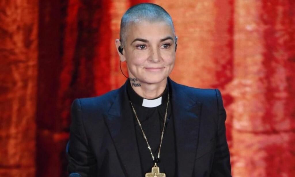 NEKTET: Artist Sinéad O'Connor overrasket da hun valgte å ikke ta imot prisen for beste alternative opptreden for 17 år siden. Foto: NTB scanpix