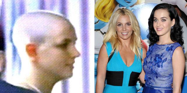 image: Katy Perry gjorde narr av Britneys sammenbrudd