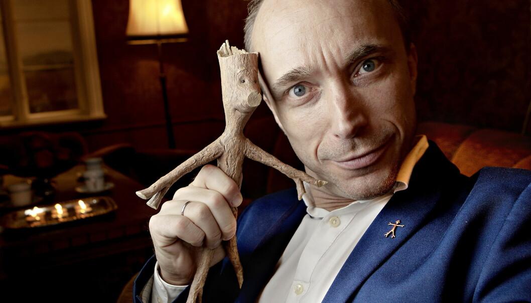 EN STEMME ALLE HUSKER: Åsleik Engmark har dubbet en rekke tegnefilmer, deriblant filmene om bokfiguren Knerten. Foto: Lars EIvind Bones/Dagbladet