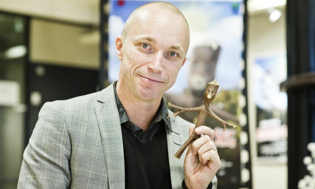 KNERTEN: Åsleik Engmark har både regissert filmene om og vært stemmen til Knerten. Foto: NTB scanpix