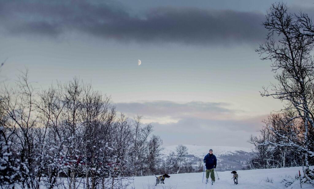 BRRR: Om du synes det har vært kaldt i dag, er det liten trøst å få fra Meteorologisk institutt. Nå blir det nemlig enda kaldere, ifølge Kristen Gislefoss. Foto: Marianne Skaug / Dagbladet