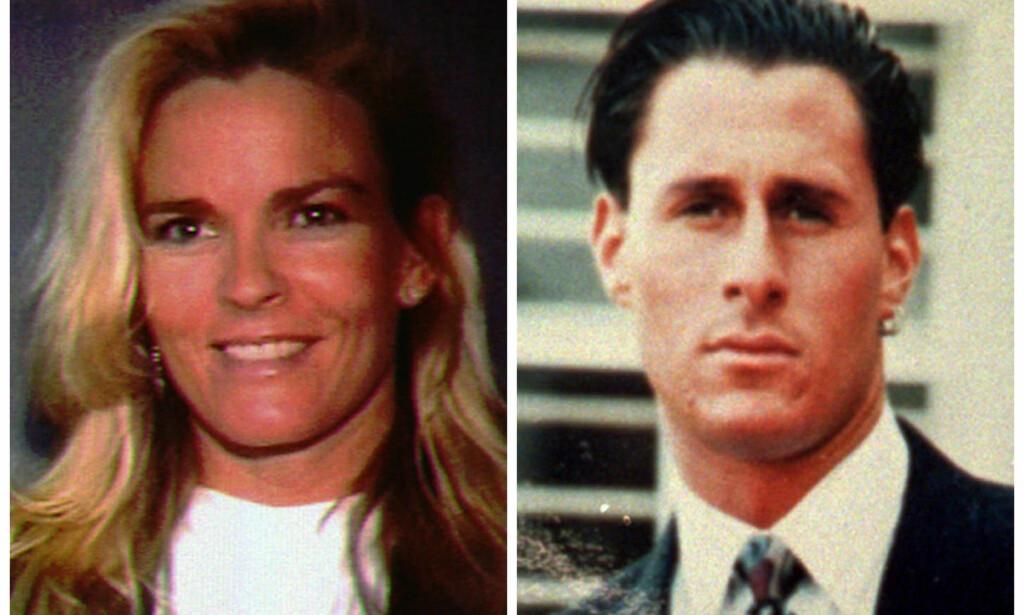 OFRENE: Nicole Brown og hennes venn Ron Goldman ble funnet brutalt drept i hennes hjem i Los Angeles 12. juni 1994. Foto: AP / NTB Scanpix