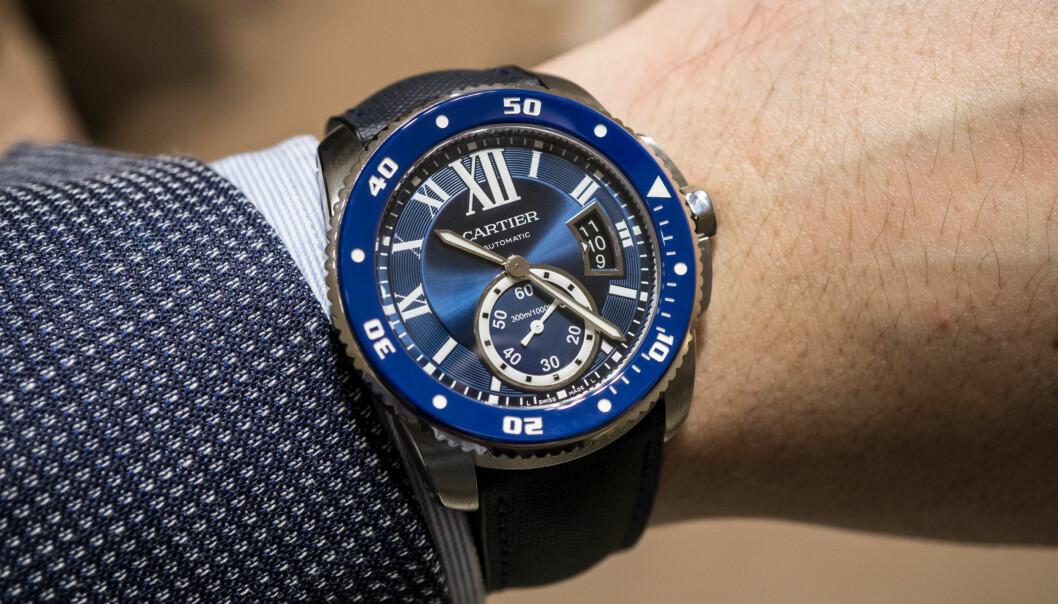 <strong>EKTE DYKKERKLOKKE:</strong> Man ser ikke alltid fra utsiden hvilke ur som er ISO 6425-sertifiserte. Foto: Tidssonen.no
