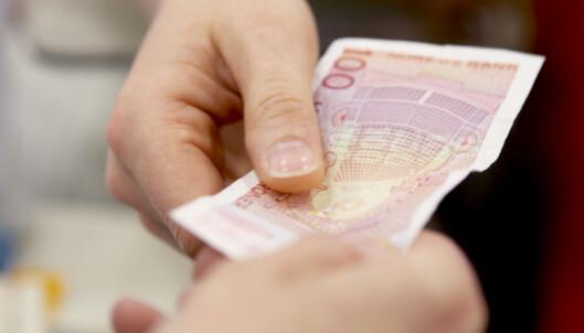 Du kan kreve å betale med kontanter hos fastlegen