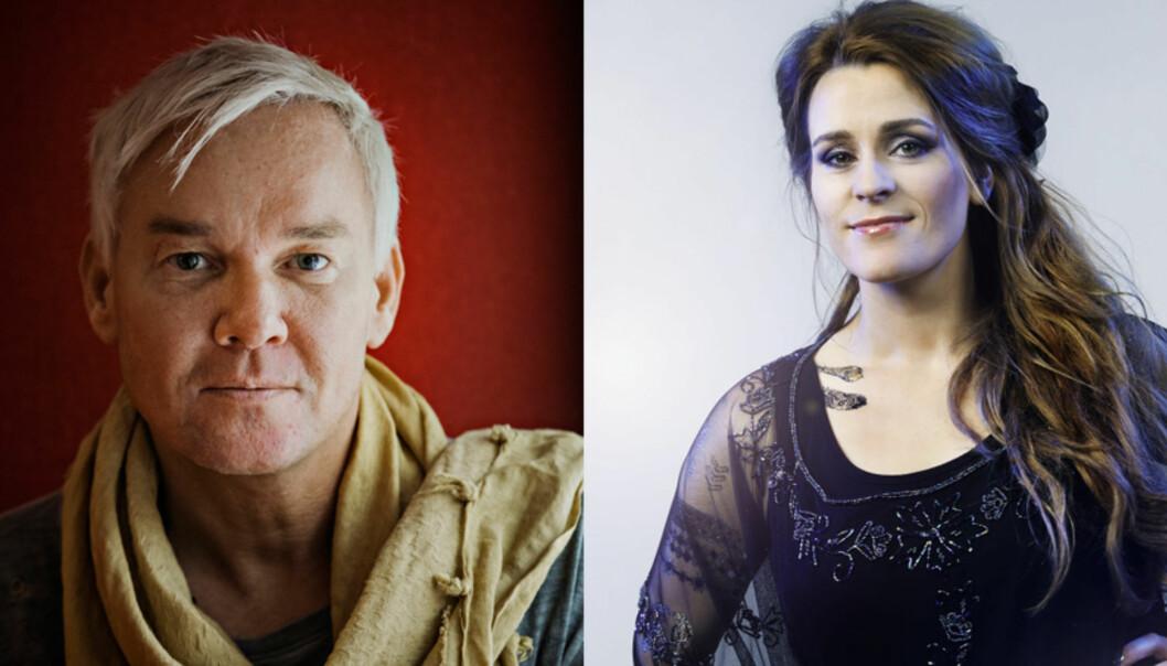 FAVORITT: Jenny Augusta og Kristian Valen får terningkast fem av Dagbladets anmelder for låta «I go where you go». Foto: Jørn H. Moen / Julia Marie Naglestad<div><br></div>