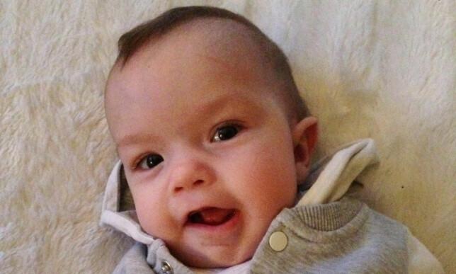 DØDE 22. FEBRUAR: Sebastian Ødegaard ble ti måneder gammel. Foto: Privat