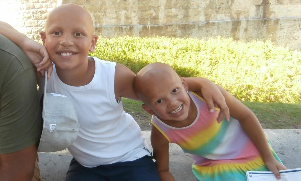 9349e6978 Det er viktig at folk vet at barna ikke har kreft, at de er friske ...