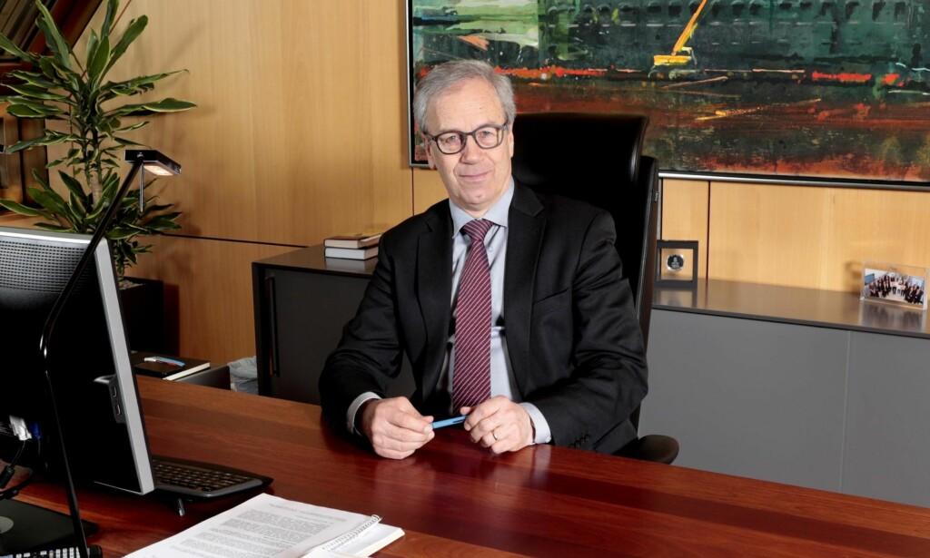 KLOKE RÅD: Sentralbanksjef Øystein Olsen kommer med kloke råd i Norges Banks årstale. Foto: Lise Åserud / NTB Scanpix