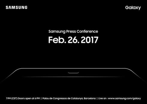 Invitasjonen fra Samsung levner liten tvil om at selskapet vil lansere et nettbrett på MWC-messen. Foto: Samsung