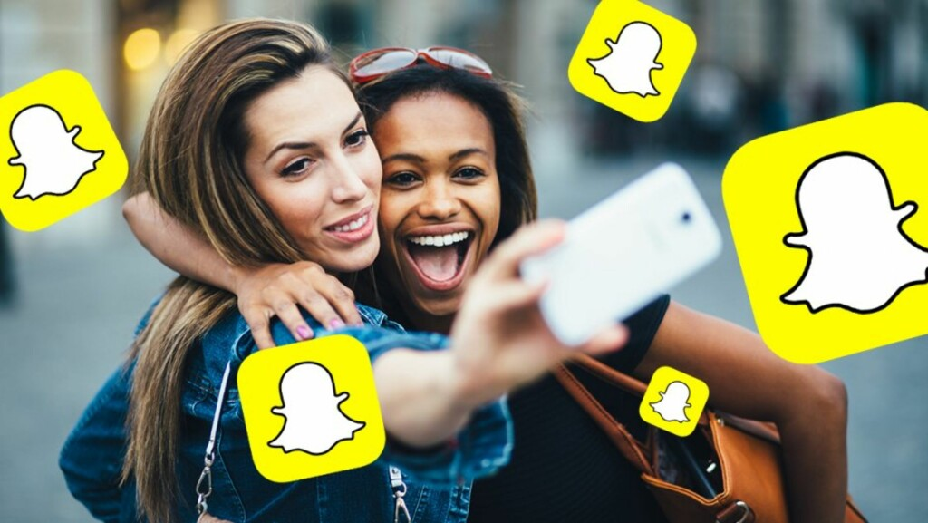 FÅR KRITIKK: Snapchat er i hardt vær etter nytt filter. Foto: NTB scanpix
