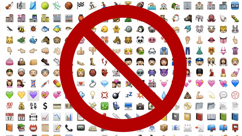 FJERNER EMOJI: Apple bytter ut en omdiskutert emoji.