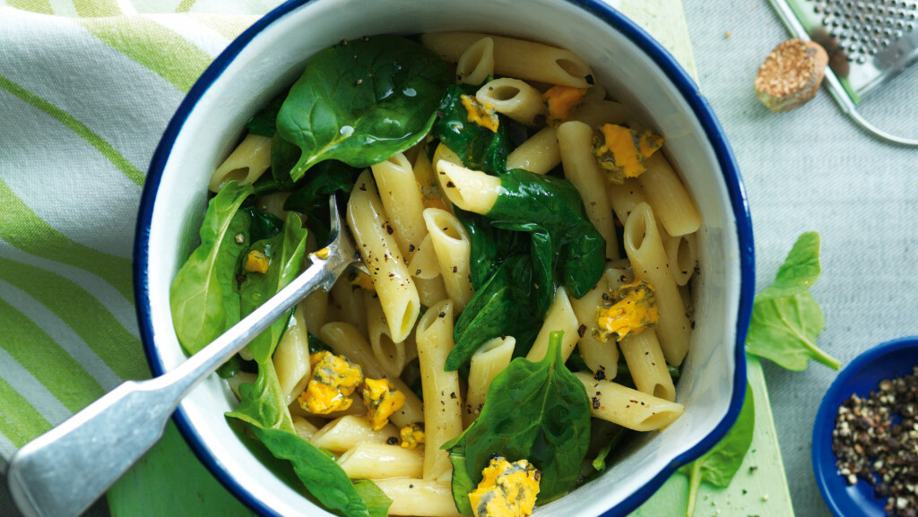 Mmm, vi skulle gjerne hatt pasta hver dag til middag! Foto: REX/Woman's Weekly/All Over Press