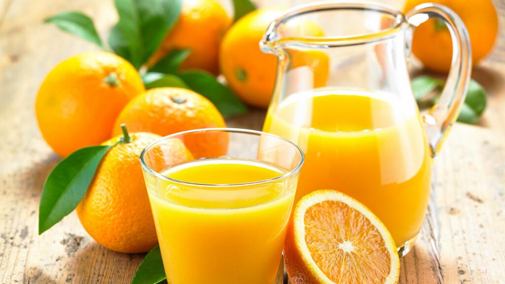 Ingenting er som et deilig glass med appelsinjuice på morgenkvisten!  Foto: Fotolia