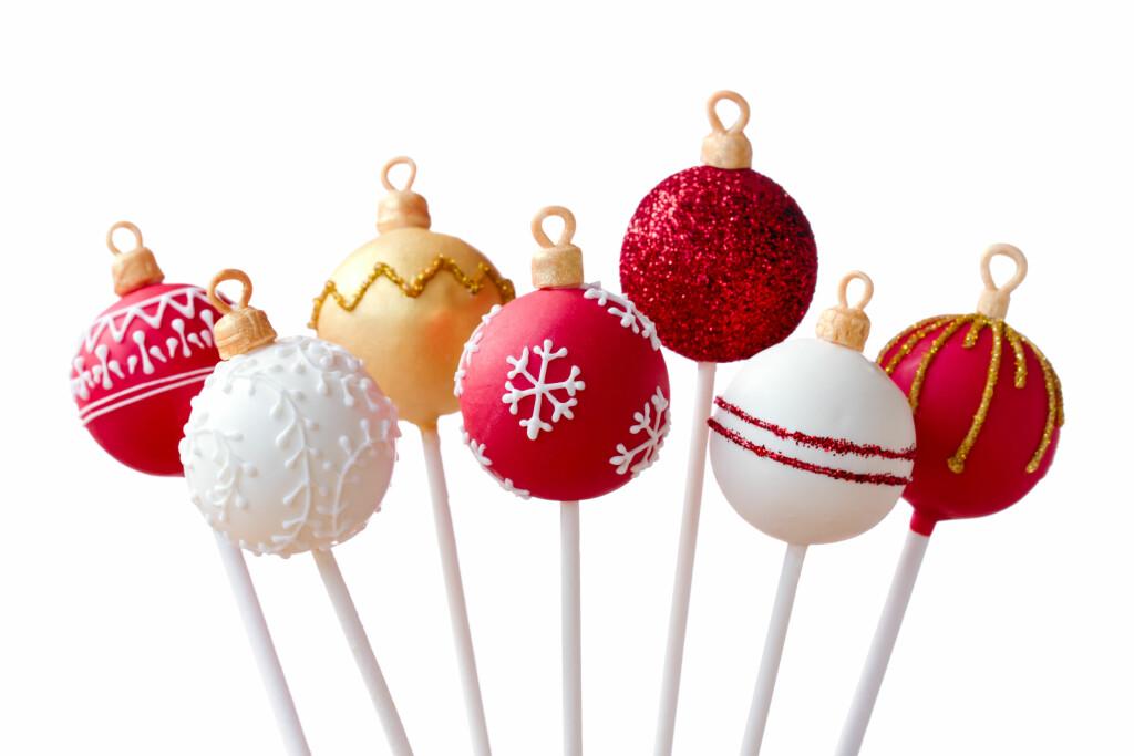 Vi lar oss inspirere av disse Cakepopsene med juletema! Foto: Ruth Black - Fotolia
