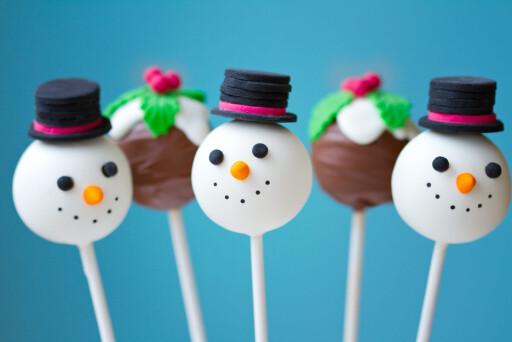 Snømann og jule-pops! Vi vil ha! Foto: Fotolia