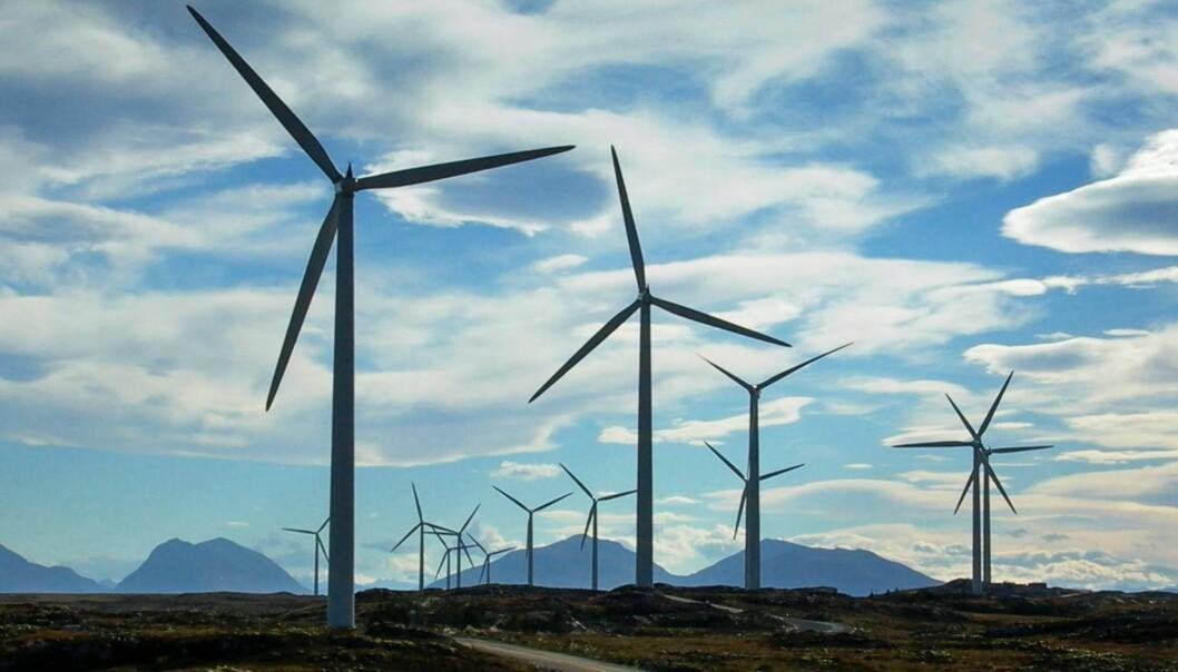 VINDPARK: Møre og Romsdal, Smøla. Smøla vindpark - trinn 2. Foto: NTB Scanpix