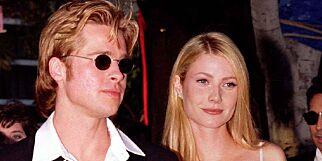 image: I 1996 forlova Brad Pitt seg med Gwyneth Paltrow. Tre år tidligere var han i et helt annet forhold