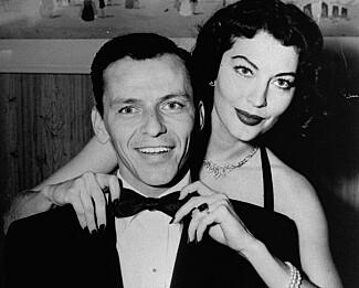 IKONISK PAR: Ava Gardner og Frank Sinatra i 1951. Foto: AP/ NTB scanpix