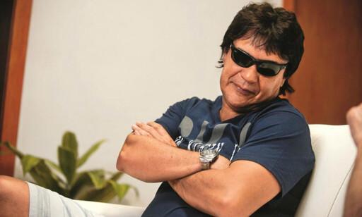 LIKNET PÅ MARADONA: Carlos Henrique blir beskrevet som en tjukkere utgave av Diego Maradona. Foto: FourFourTwo