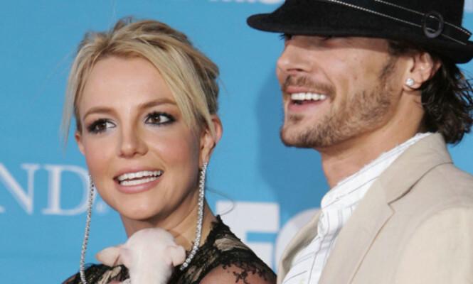 SKILTE SEG: Seint i 2006 søkte Britney Spears om en skilsmisse fra danseren Kevin Federline. Den ble ikke godkjent før sommeren 2007, men det var en av mange stressfaktoren popstjerna hadde i livet sitt våren 2007. Foto: AFP, NTB scanpix