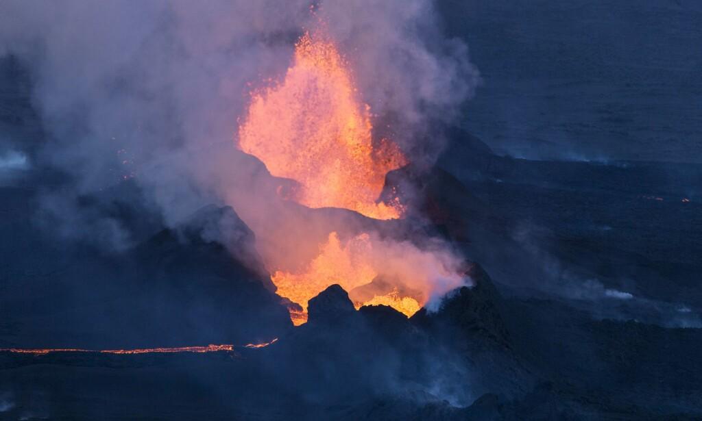 Bardarbunga: hadde sitt foreløpig siste vulkanutbrudd i 2014/15. Utbruddet varte i seks måneder. Foto: Bernard Meric / AFP / NTB Scanpix
