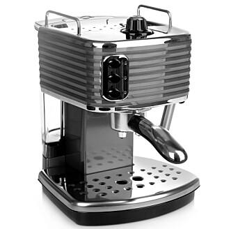 Slik kan en espressomaskin til hjemmebruk se ut. Foto: Shutterstock