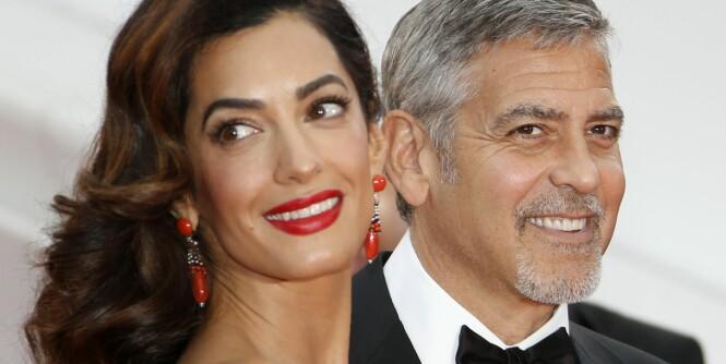 Derfor forelsket hun seg i George Clooney