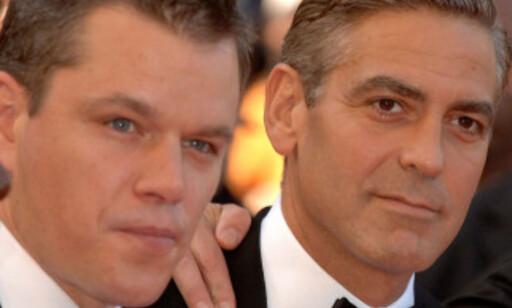 FØRST UTE: Matt Damon klarte ikke å holde kompisens babynyhet hemmelig. Foto: NTB Scanpix