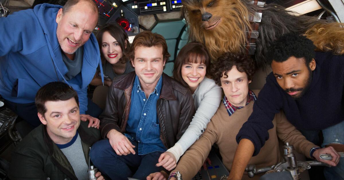 Nytt Bilde Roper Skuespillerne I Star Wars Spinoff