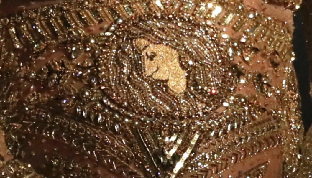GULLBELAGT ANSIKT: Er det Beyoncés ansikt vi ser her? Foto: Matt Sayles / Invision / AP / NTB Scanpix