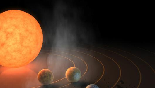 NASA: Har funnet et solsystem med planeter som ligner jorda
